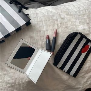 Sephora Bag, Mirror And Bite Lipstick